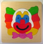 Preschool puzzle of Clown