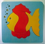 Fish toddler puzzle