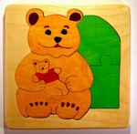 Teddy Bear puzzle for toddlers