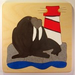 Walrus toddler puzzle