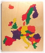 Western Europe map puzzle